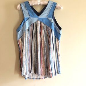 Anthro One September Tank Top Size L
